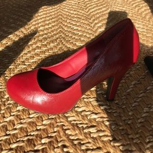 Madden Girl Shoes - Red heels